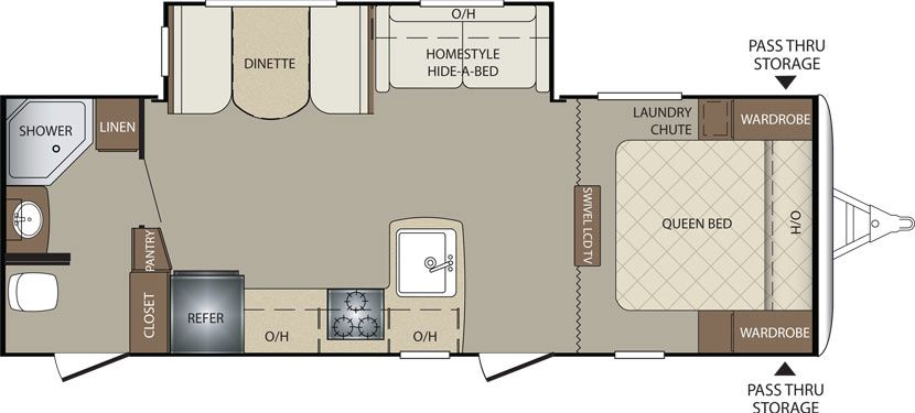 Keystone RV 251RBSWE floorplan