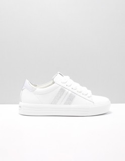 91-14560 lage sneakers dames Wit 627 BIANCO-SILBER WEISS ...