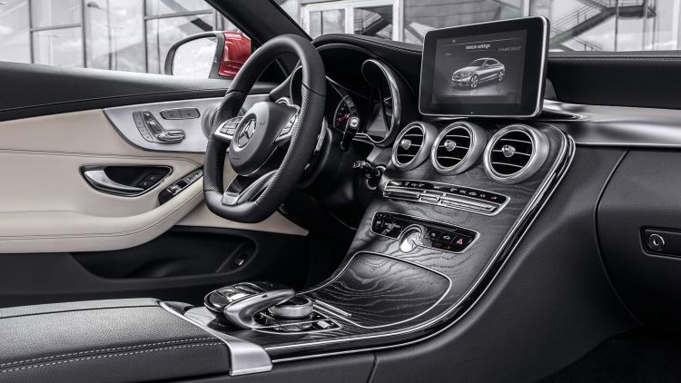Mercedes Benz C Class Coupe Looks Just As Banging As Big Brother