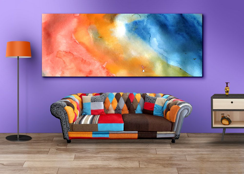 Living Room Wall Art Mockup Psds Graphicsfuel Living Room Canvas Canvas Wall Art Living Room Living Room Art