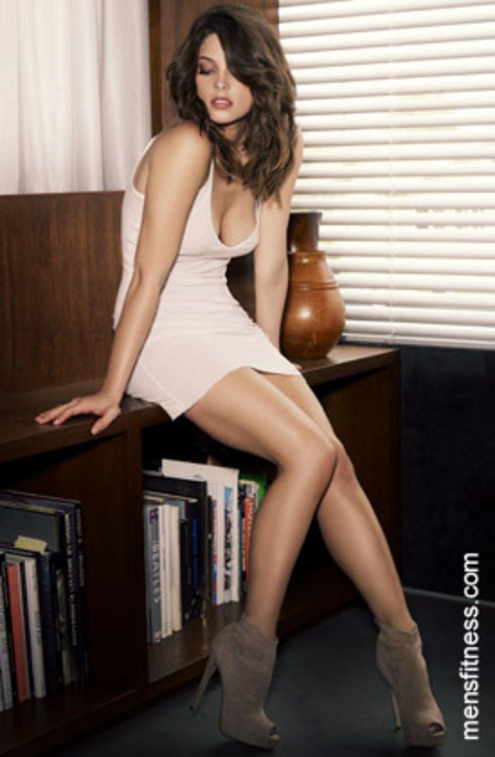 Ashley Greene Hot Ashley Greene Men S Fitness Magazine