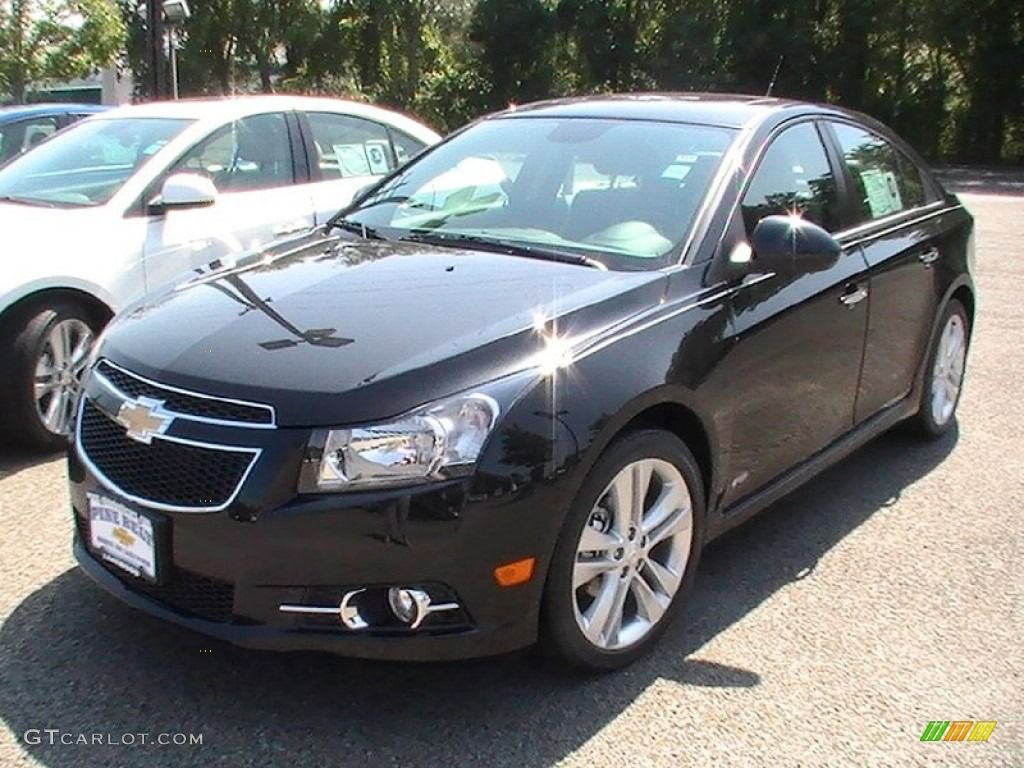 Chevy Cruze 2017 Ltz Rs Chevrolet Black Granite Metallic Color Jet
