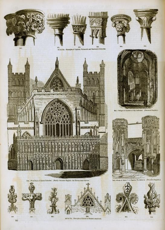 English gothic architecture decorated style 1 gothic for Casa revival gotica