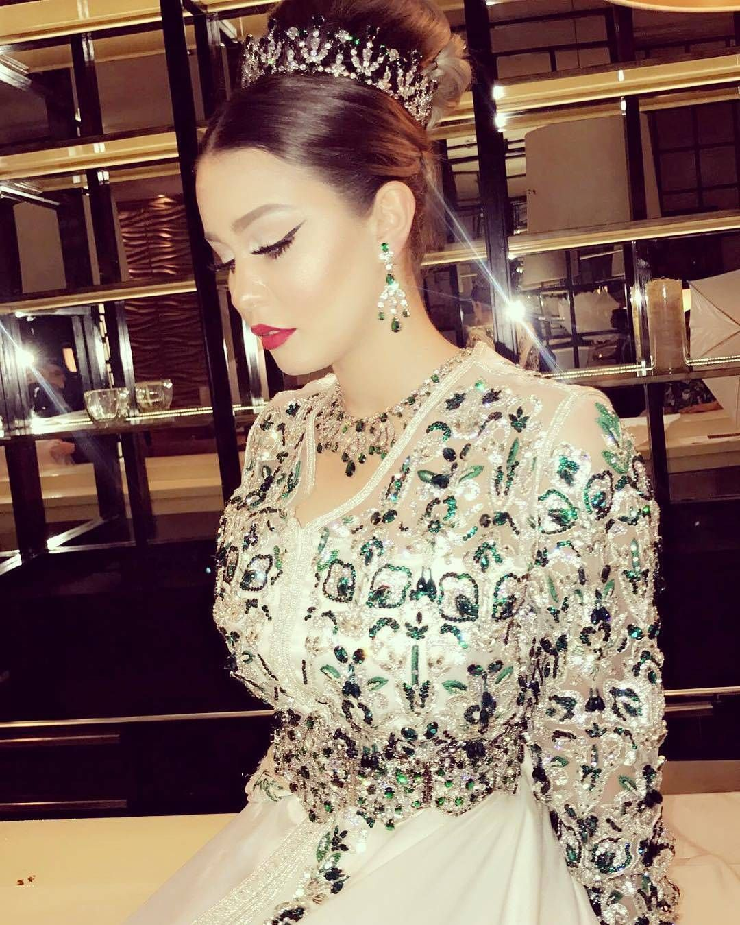 Maghreb \u0026 Oriental Luxury sur Instagram  @ziana_anouchka  caftantakshitabeldi