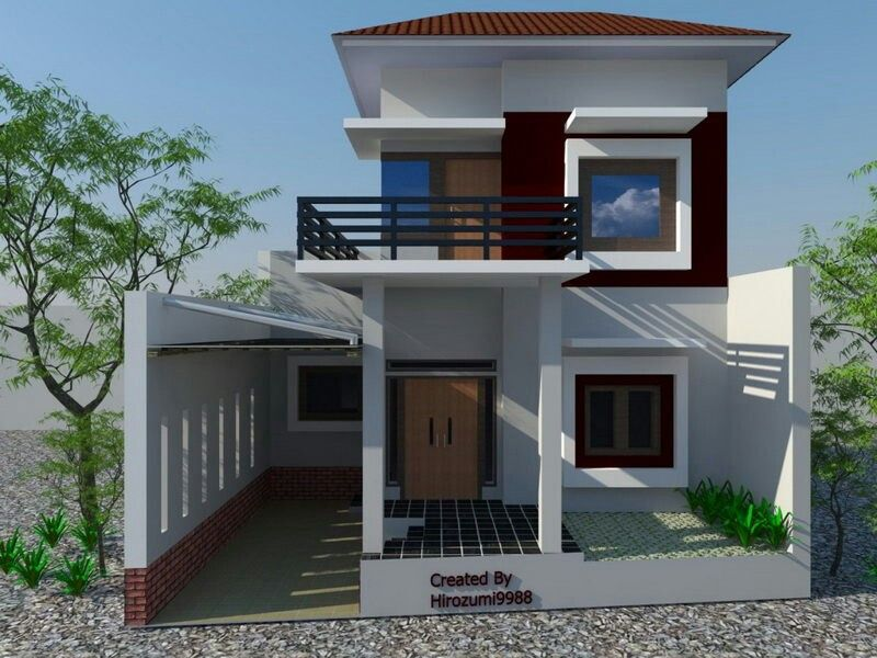 Pin by DongHun Lee on Moden HOUSE Desain rumah Rumah