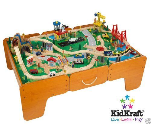 Kidkraft Limited Edition Waterfall Mountain Train Table and Train ...