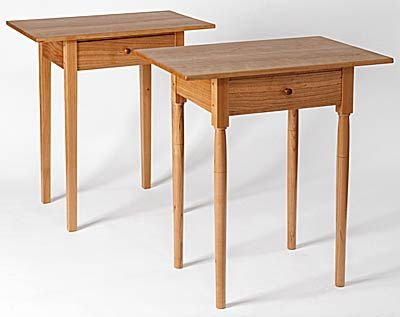 shaker furniture woodworking table
