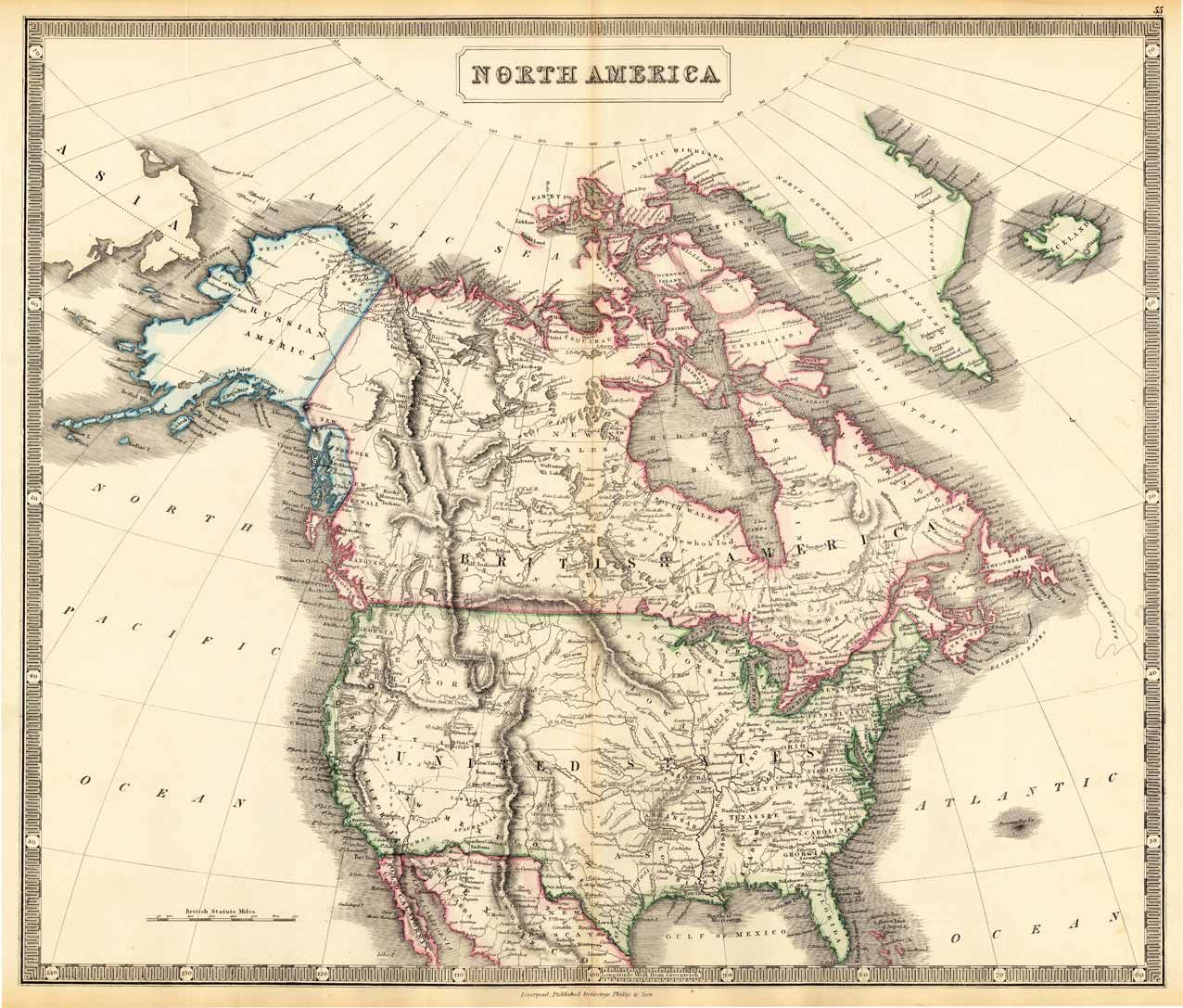 Best Images About  Antebellum America Maps  Best - Old maps of america