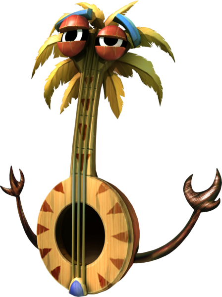Banjo Bottom Is A Leading Member Of The Tiki Tak Tribe Who Appears In The Boss Level The Mole Train In 2020 Donkey Kong Country Returns Donkey Kong Donkey Kong Country