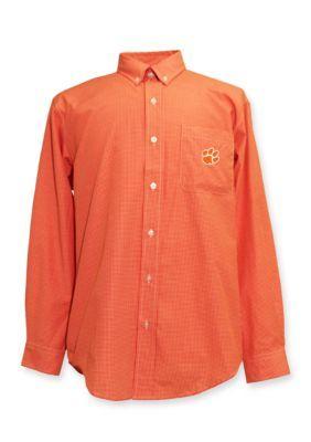 Campus Specialties  Clemson Tigers Woven Shirt