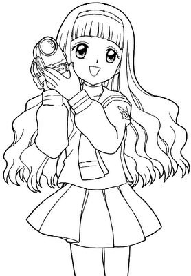 Pin on coloriages mangas