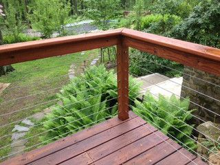 Cable Rail   Contemporary   Deck   Chicago   By Stair Supplies