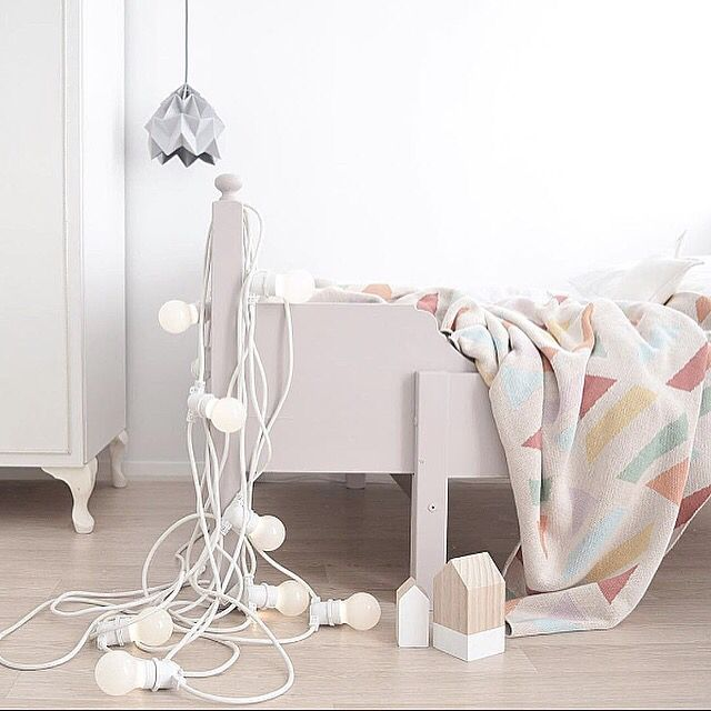 Our Seletti Bella Vista Festoon Lights In White