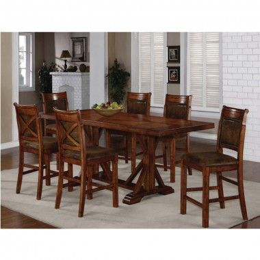 Austin Hills Dining Counter Height Table 4 Chairs 1288t