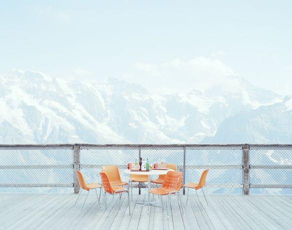 Orange chairs © Nick Meek