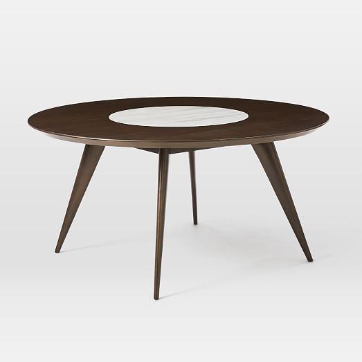 turner lazy susan dining table contemporary kitchen rh pinterest fr
