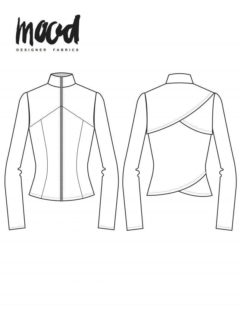 Jacket Patterns Free : jacket, patterns, Hawthorn, Jacket, Sewing, Pattern, Sewciety, Sewing,, Clothes, Women,