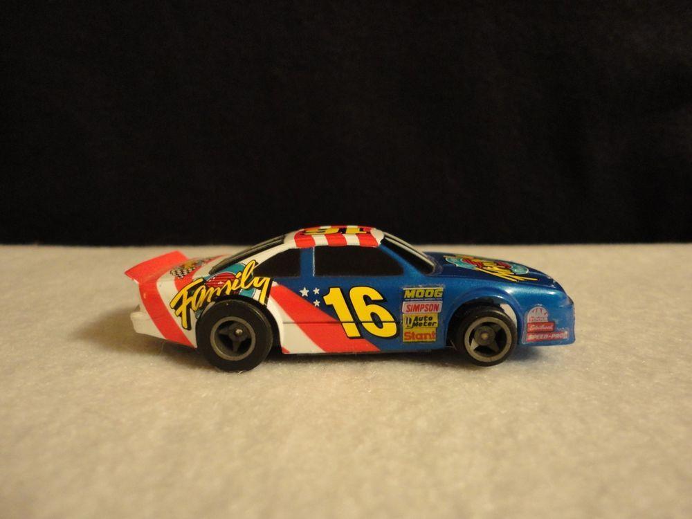Life Like Racing NASCAR Family Channel #16 HO Slot Car