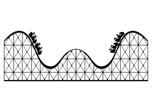Roller Coaster Georgiajanet Clip Art Clipartix Photo
