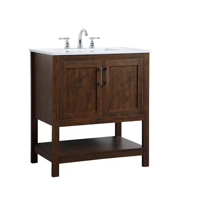 Highland Dunes Gooden 30 Single Bathroom Vanity Set Reviews Wayfair Single Bathroom Vanity Bathroom Vanity Vanity