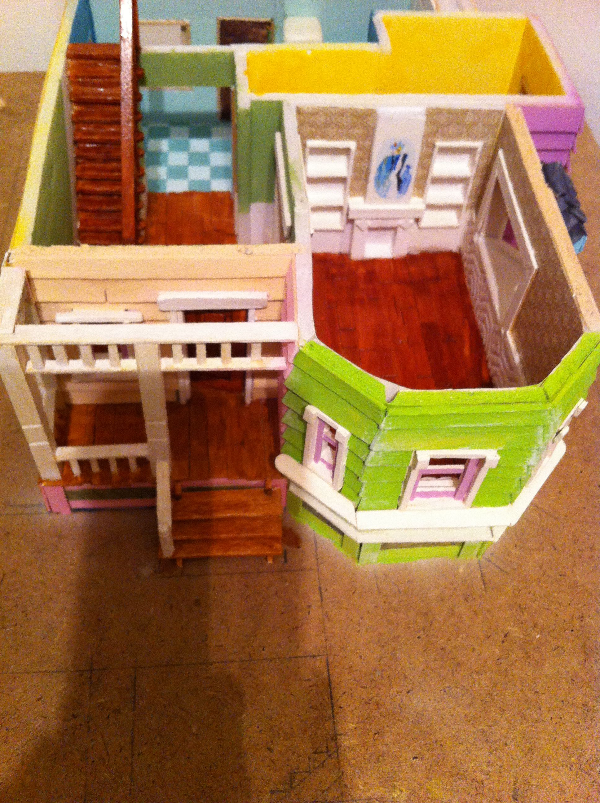 Maqueta up hobbys proyecto house up pixar disney pinterest - Maqueta casa up ...