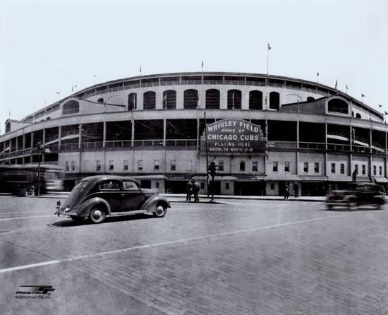 MLB Wrigley Field Wrigley field, Fields and Major league