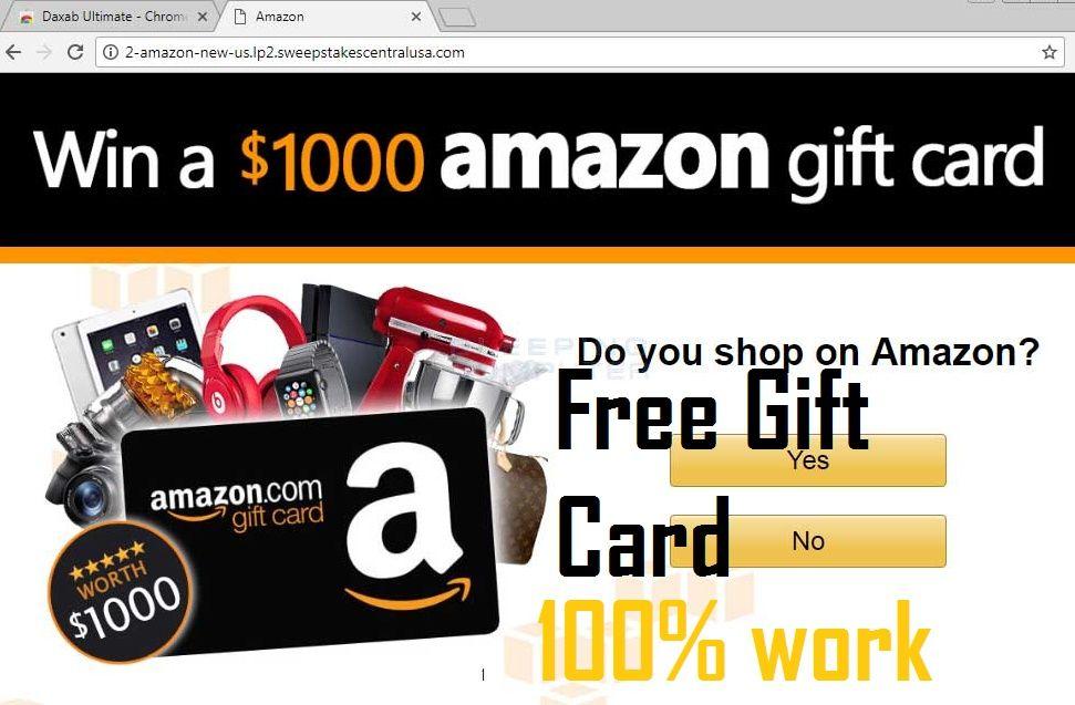 How to get free amazon gift card codesfree amazon gift