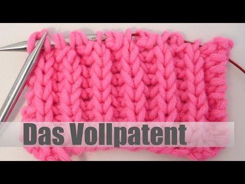 Photo of Das volle Patentstricken | Lerne Strickmuster