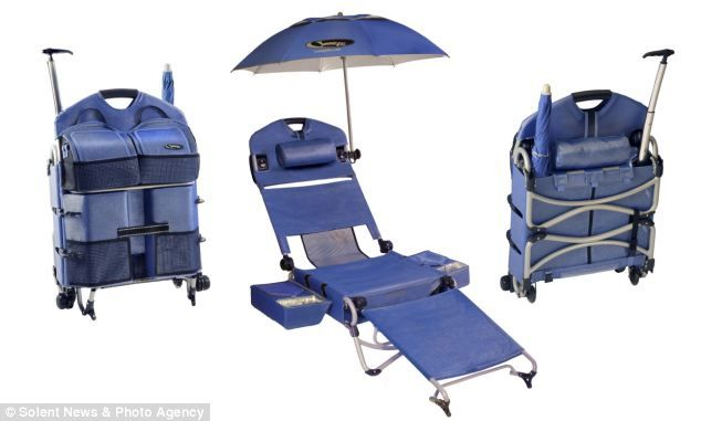 The Portable Sun Lounger That Comes