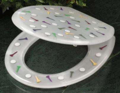 Fine Clear Golf Toilet Seat Golf Golf Ts Golf Bathroom Evergreenethics Interior Chair Design Evergreenethicsorg