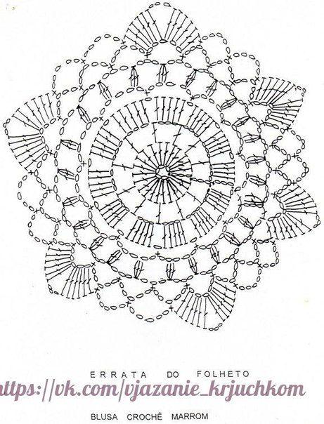 Pin von Analdes Rocha auf crochê | Pinterest | Häkeln, Häkeldeckchen ...