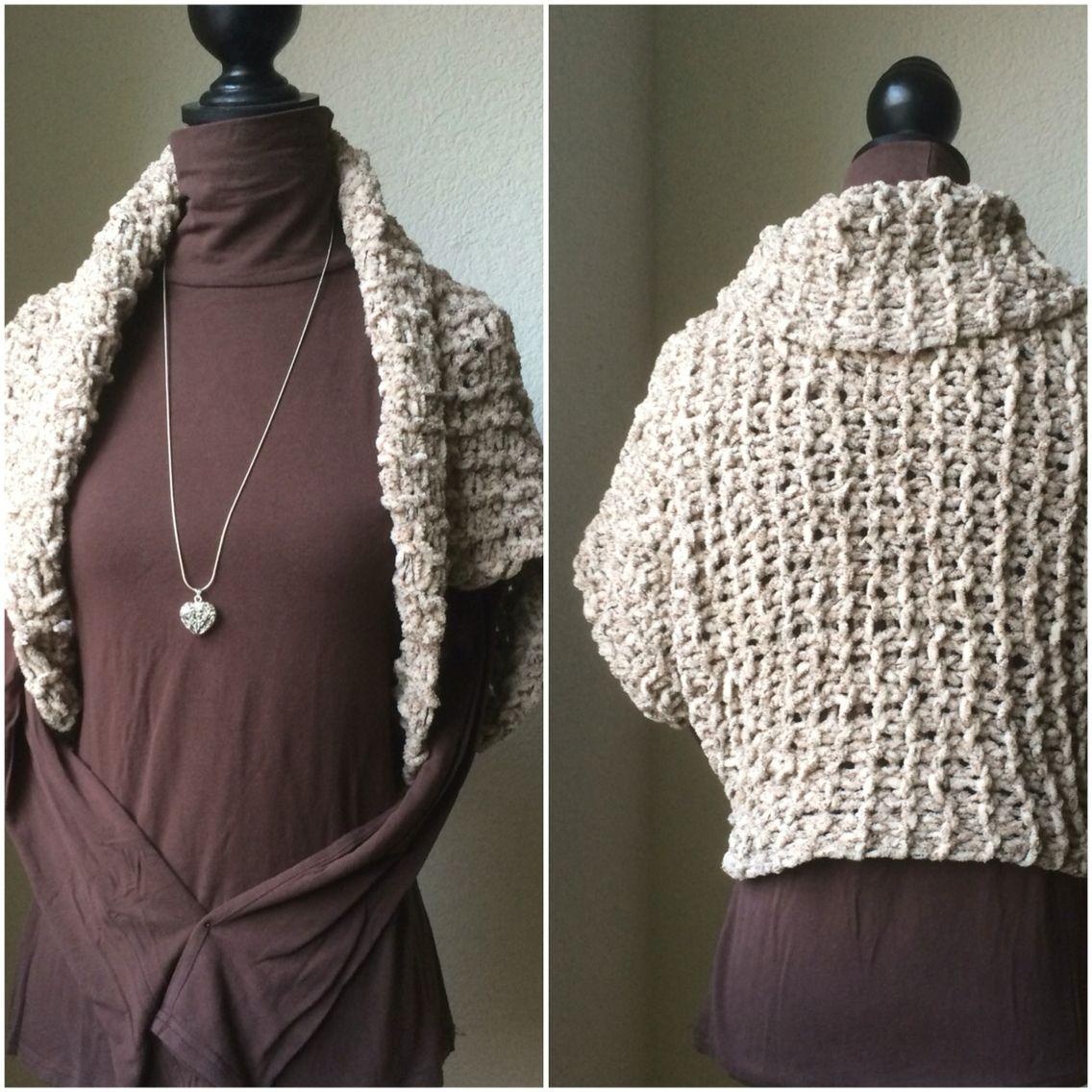 Crochet Shrug Patern Bolero