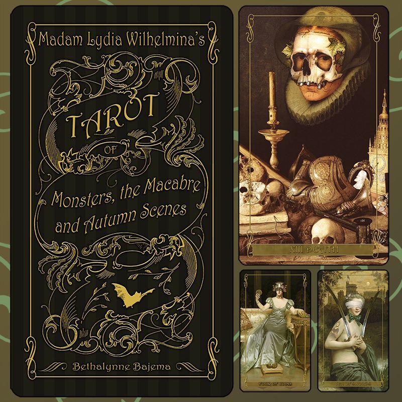 Madam Lydia Wilhelmina's Tarot of Monsters, the Macabre and Autumn Scenes - Attic Cartomancy #autumnscenes