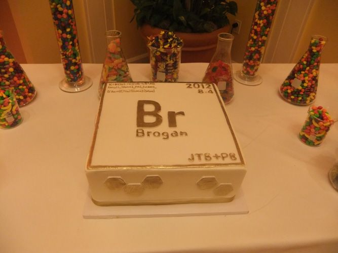 Groom's Cake? | Wedding Ideas in 2019 | Chemistry cake, Cake
