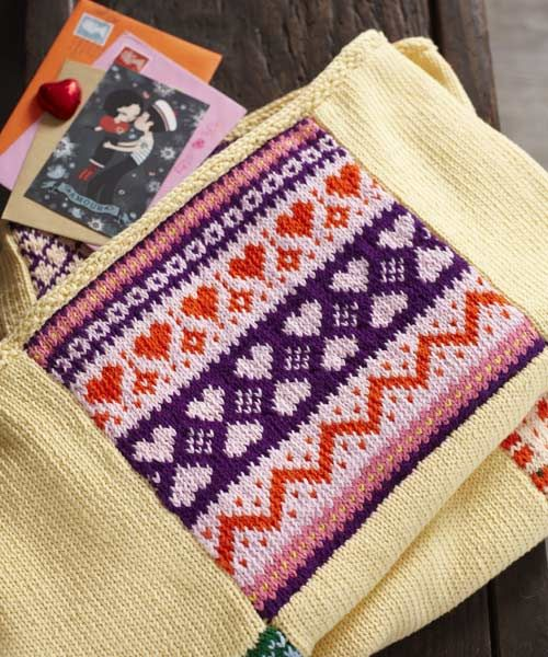 Join our 'Knit-A-Long' and make a beautiful patchwork knitted ...