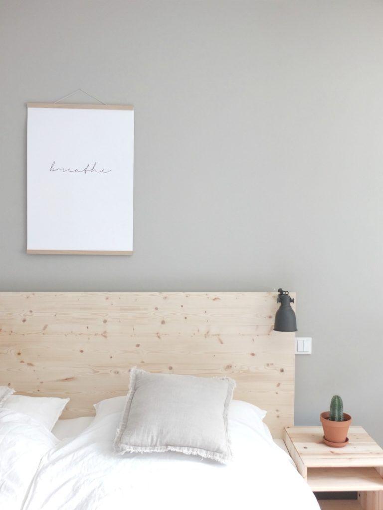 Ikea malm bett  Ikea-Hack | Eine neue Rückwand für das Malm Bett! Mit ganz viel ...