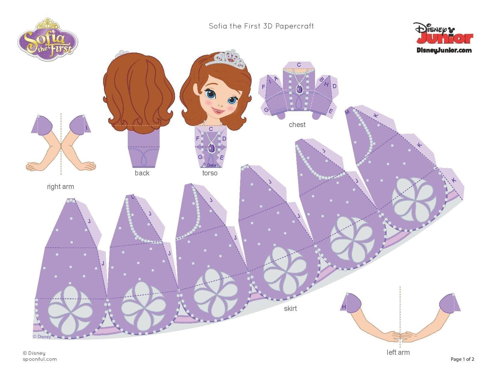 Printable Disney Paper Crafts Disney Paper Dolls Paper Crafts
