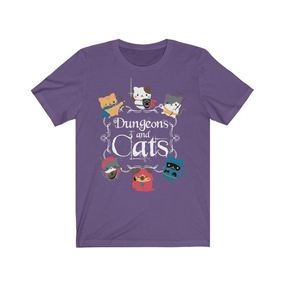 Dungeons And Dragons Cat Shirt Dungeon Master Dungeons and
