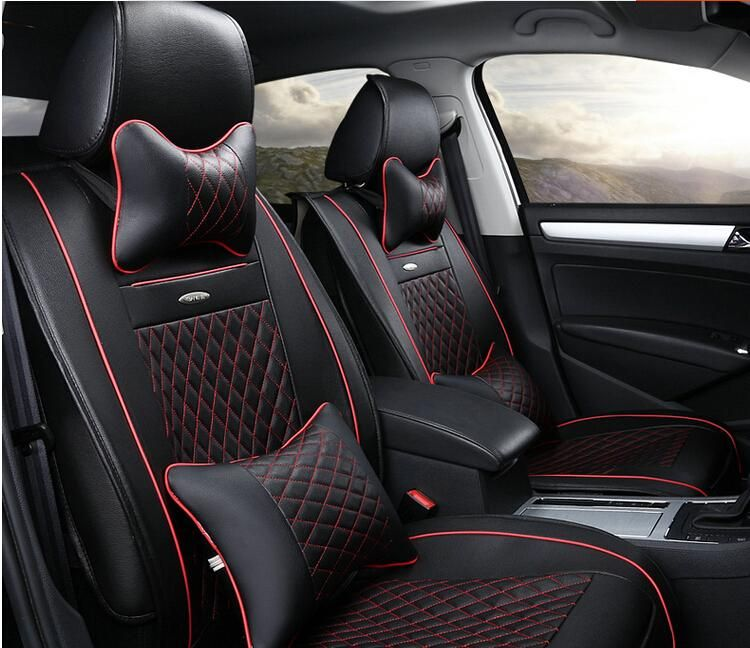 AA Full Set Car Seat Covers For Peugeot 2008 3008 4008 Comfortable Breathable