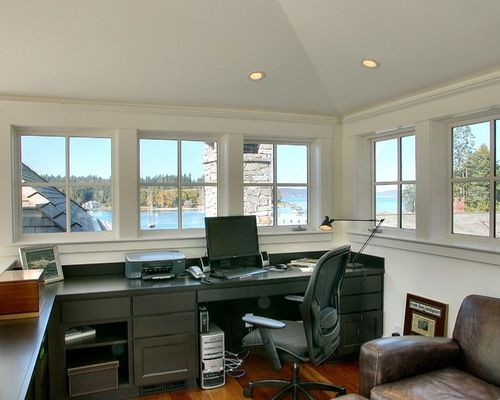 Office Above Garage Ideas Pictures Remodel And Decor Awesome Home