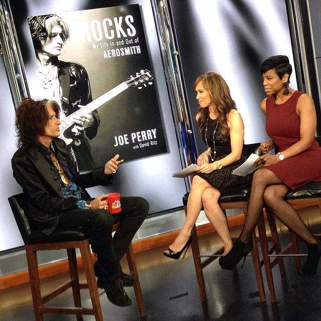 #Aerosmith legend #JoePerry dropped by #newyorklivetv this week to chat about his new memoir #Rocks