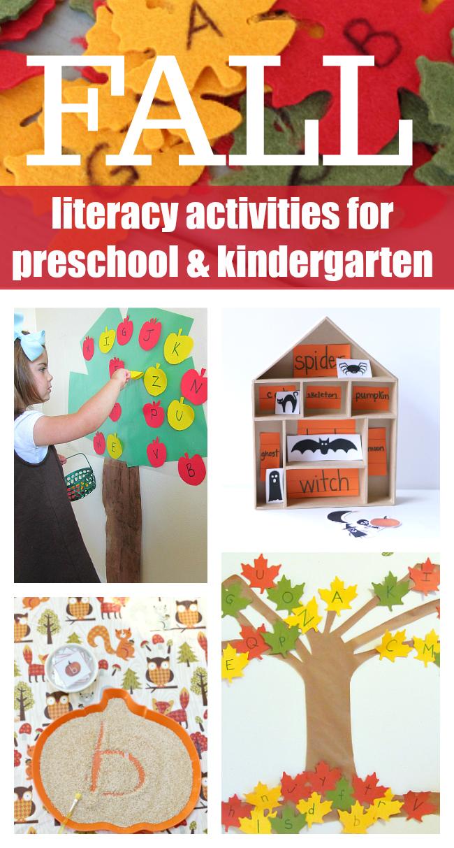 Fall Literacy Activities for Preschool and Kindergarten ...