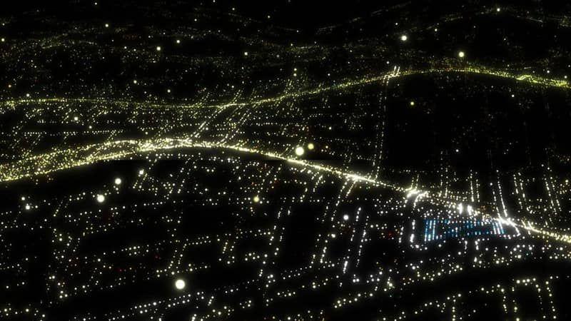 City Lights Deutsche Bank Media Wall on Vimeo