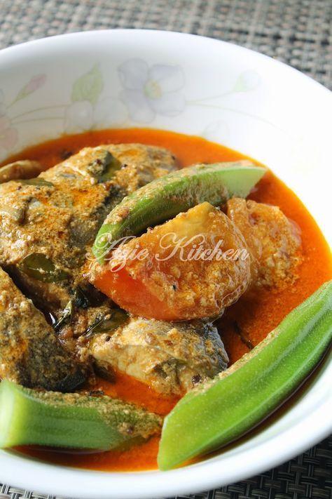 Azie Kitchen Kari Ikan Aji Aji Asian Cooking Malay Food Malaysian Cuisine