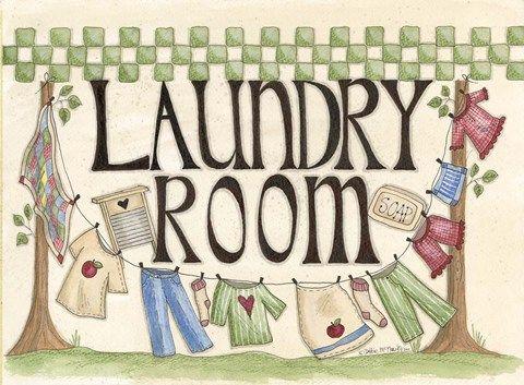 Laundry Room Poster Rumah Seni Dinding Gambar Hiasan
