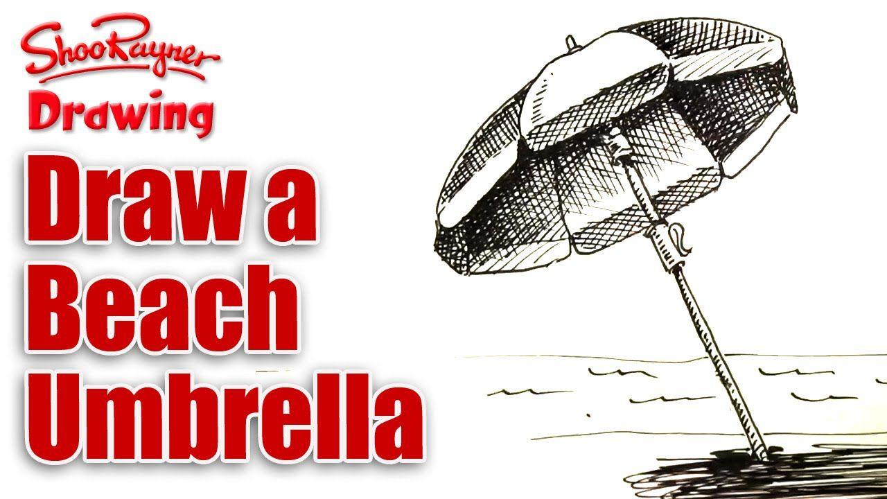 http//youtu.be/8eYCbeCJlQo Umbrella drawing, Beach
