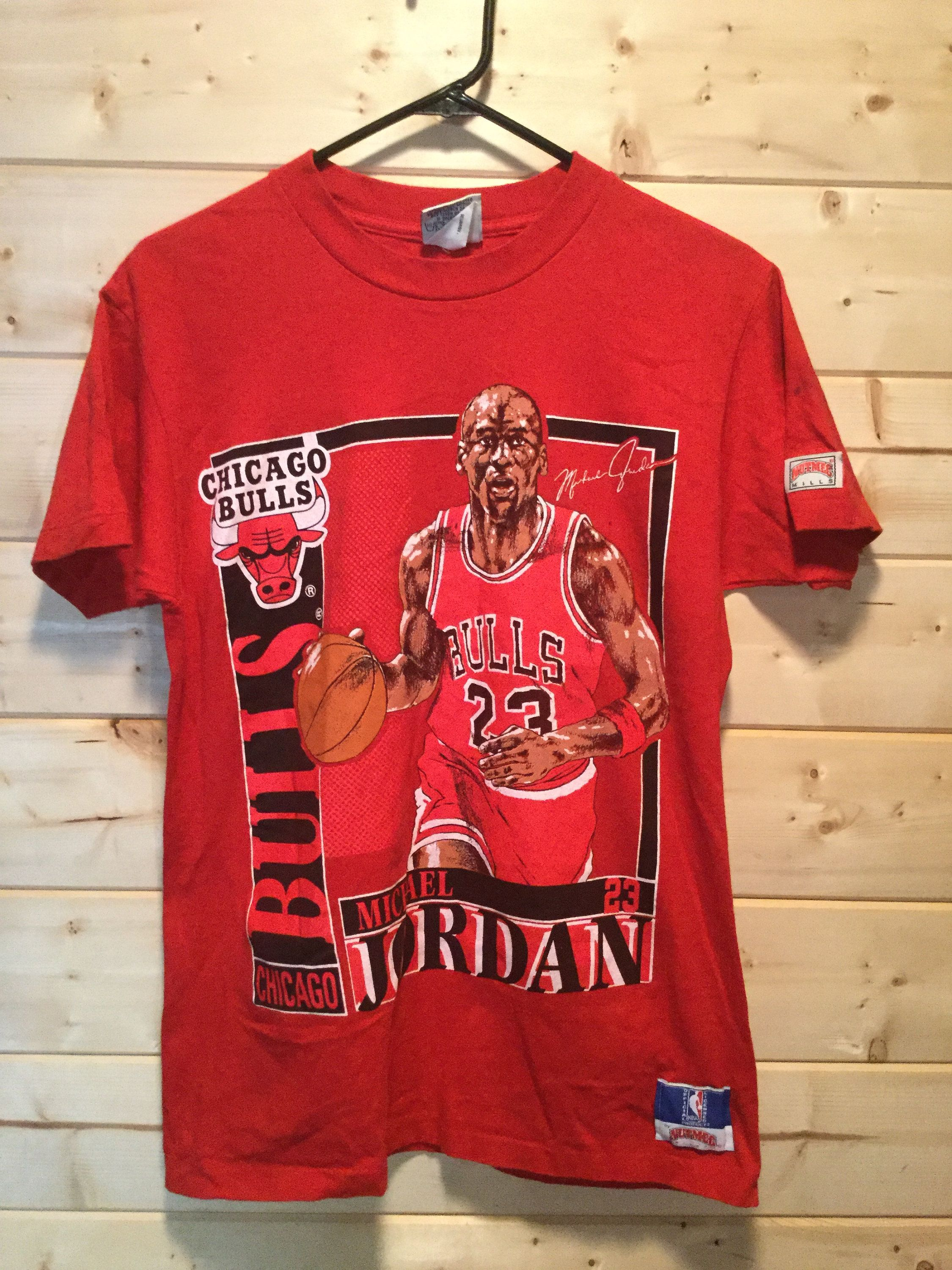Vintage 1990 S Chicago Bulls Michael Jordan Nutmeg T Shirt Made In Usa By 413productions On Etsy Vintage Tshirts Chicago Bulls Shirts