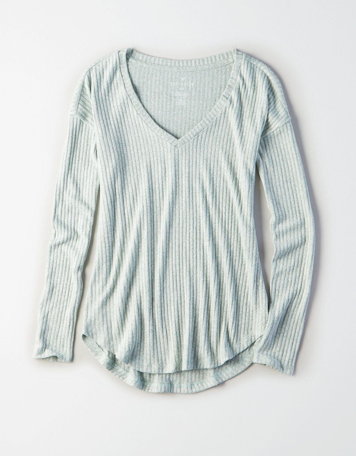 d79dcfd8e3f5 Pin by Francesca Valentino on Tops-Basic in 2019   Long sleeve tops ...