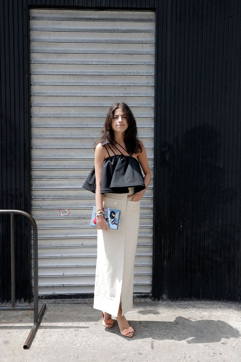 Cool top leandra in nyc leandramedine manrepeller moda