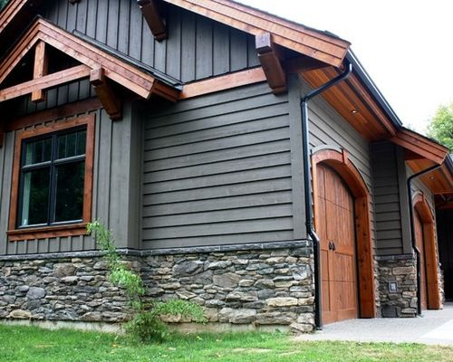 Pin by shanele on home design house exterior house - Rustic home exterior color schemes ...